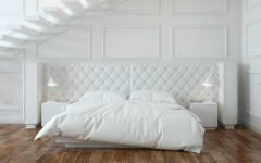 white bedroom 10 Calm and Charming All White Bedrooms modern all white bedroom design ideas bedroom inspiration design concept all white bedroom design 1 240x150