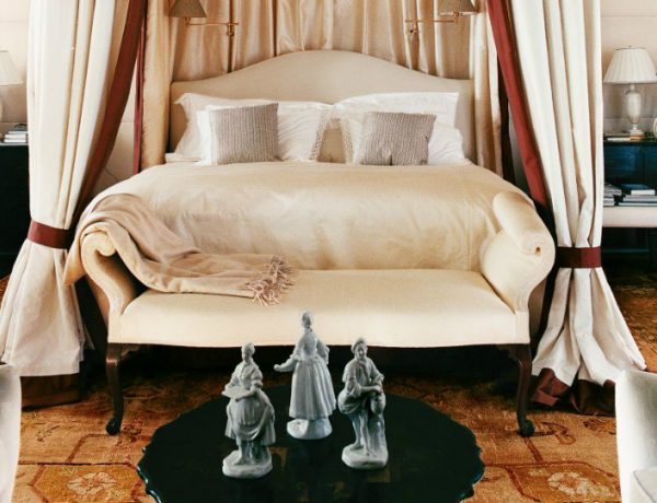 bedroom design Bedroom Designs By Top Interior Designers: Robert Couturier new york bedroom by robert couturier whimsical bedroom ideas modern bedroom design 1 600x460