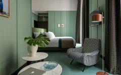 patricia urquiola Milan Hotel Project by Patricia Urquiola patricia urquiola hotel bedroom design inspiration ideas modern bedroom decor master bedroom design green shades pretty bedroom 1 240x150