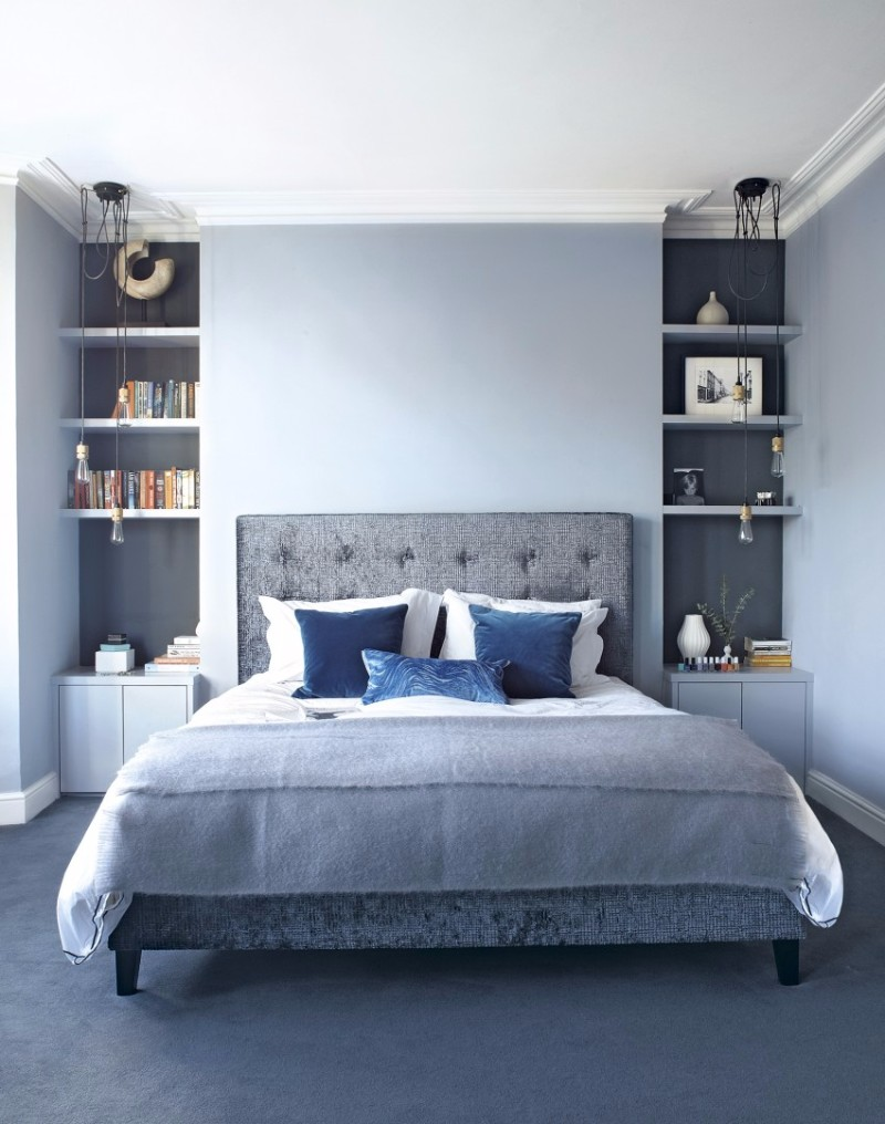 blue master bedroom decorating ideas 10 soothing blue bedroom designs master bedroom ideas 18371