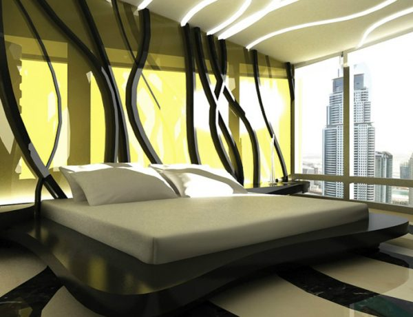 Bedroom design Bedroom Designs by Top Interior Designers: Tihany Design tihany design four seasons dubai ultra modern bedroom decor 1 600x460