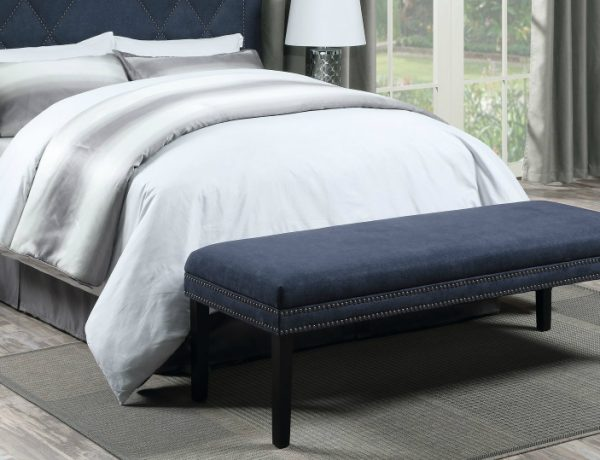 master bedroom 10 Magnificent Upholstered Master Bedroom Benches AshburyUpholsteredBedroomBench 600x460