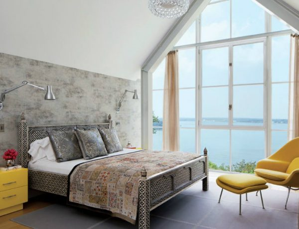 modern room 10 Modern Rooms by Famous Interior Designers Shelter haven home Michael Haverland Architect master bedroom design ideas 1 600x460