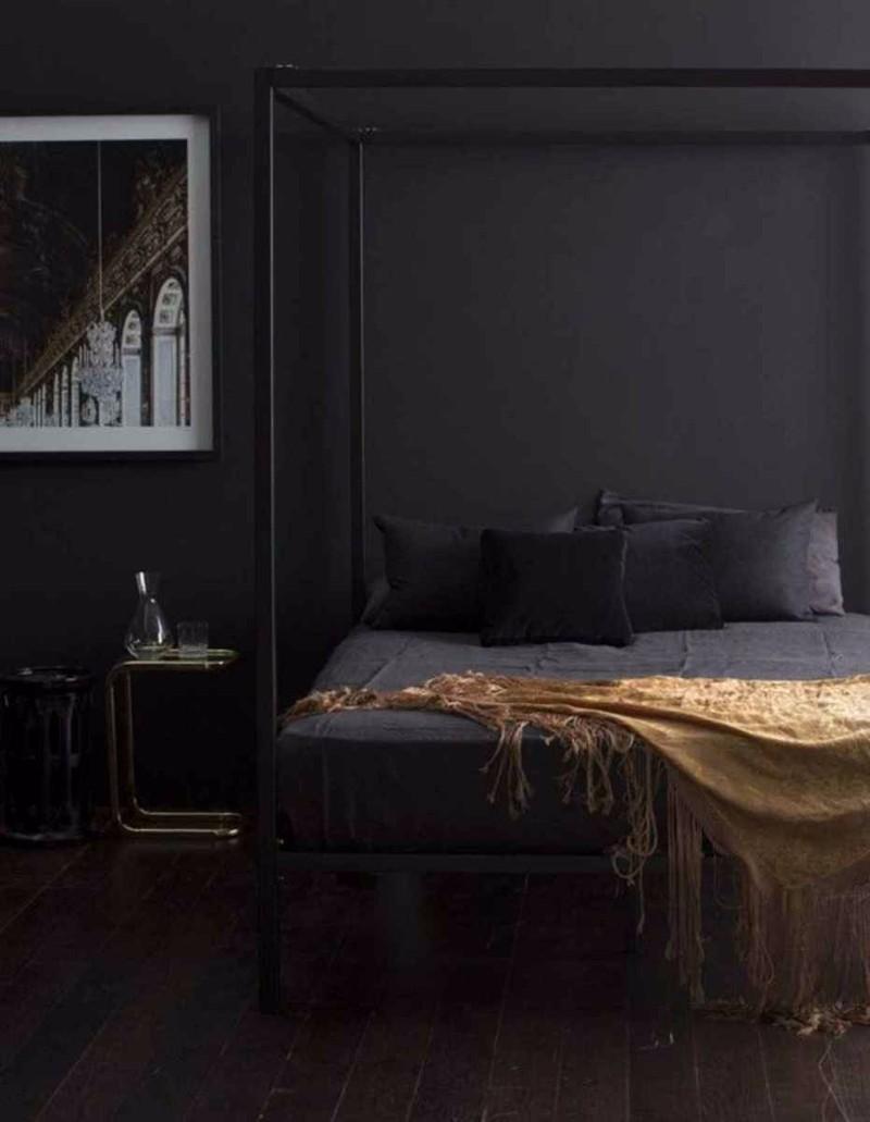 Elegance & Luxury with Dark Bedroom Designs - Master ...