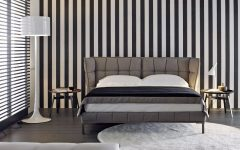 bb italia 12 Astonishing Bed Designs by BB Italia Husk Bed by BB Italia Contemporary black white grey master bedroom inspiration ideas modern bedroom design 240x150