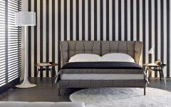 bb italia 12 Astonishing Bed Designs by BB Italia Husk Bed by BB Italia Contemporary black white grey master bedroom inspiration ideas modern bedroom design 240x150