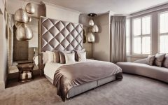 bedroom design Bedroom designs by Top Interior Designers: Eric Kuster metallic bedroom design by eric kuster colorful master bedroom design ideas 240x150