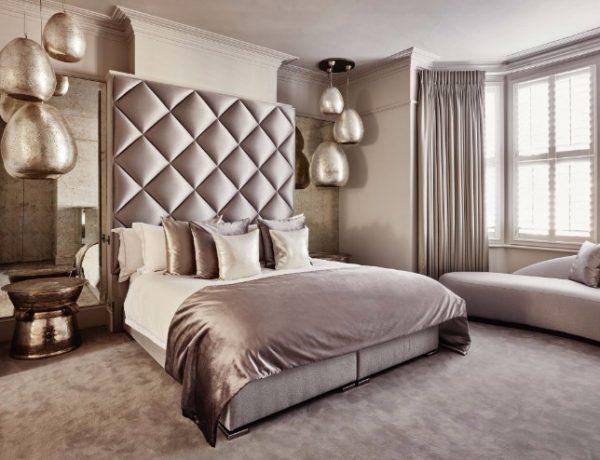 bedroom design Bedroom designs by Top Interior Designers: Eric Kuster metallic bedroom design by eric kuster colorful master bedroom design ideas 600x460