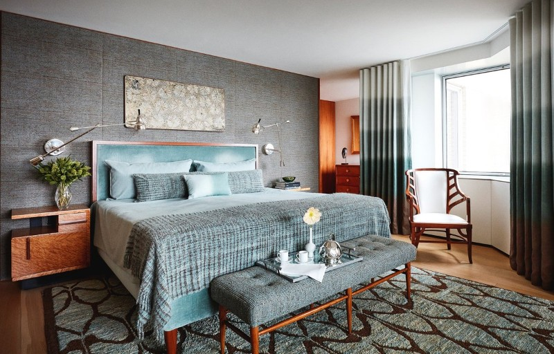 30 Modern Master Bedrooms by Famous Interior Designers ...