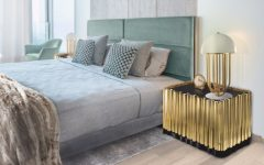 master bedroom trends Get Inspired with these 10 Master Bedroom Trends Boca Do Lobo Symphony Nightstand Luxury Furniture Exclusive Golden Nightstand Design 240x150