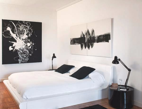 Black and White bedroom 10 Sharp Black and White Bedroom Designs beautiful contemporary master bedroom design home decor ideas modern black and white bedroom inspiration 600x460
