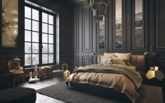 Mystery & Charm with 10 Black Bedrooms black bedroom Mystery & Charm with 10 Black Bedrooms black bedroom design ideas art decor modern bedroom design master bedroom decor 1 240x150