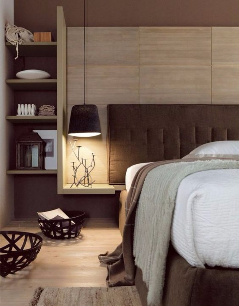 10 cozy brown bedroom ideas for fall 2017 master bedroom 12547 | brown bedroom design modern bedroom with brown colors master bedroom inspiration ideas