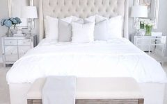 white bedroom Pinterest's 10 Most Charming White Bedroom Designs charming white bedroom design inspiration ideas mirrored nightstand modern interior design 240x150