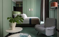 green bedroom 10 Exuberant Green Bedroom Designs green bedroom design by patricia urquiola master bedroom ideas modern bedroom design 240x150