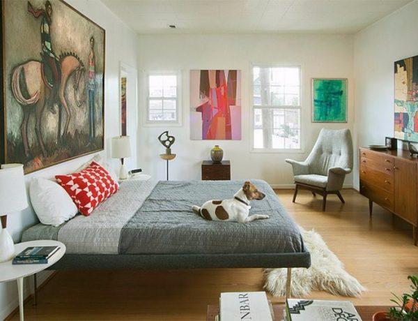 mid-century modern 10 Master Bedrooms in Mid-Century Modern Style modern master bedroom mid century style master bedroom design 600x460
