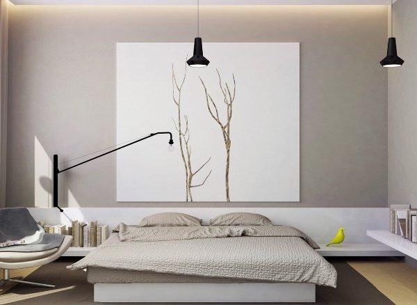 simple bedroom design 10 Elegant yet Simple Bedroom Designs charming bedroom design bedroom inspiration ideas master bedroom decor 600x438