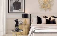 master bedroom 10 Master Bedrooms with Gold Accent Décor golden bedroom design ideas modern master bedroom decor 240x150