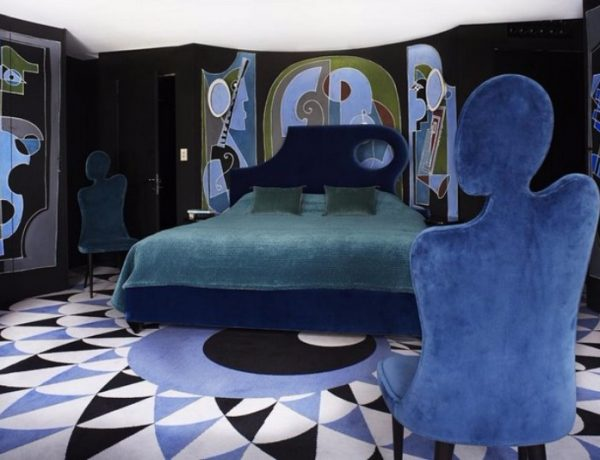 master bedroom 10 Master Bedrooms Inspired by Modern Surrealism master bedrooms inspired by modern surrealism bedroom design ideas blue tones 600x460