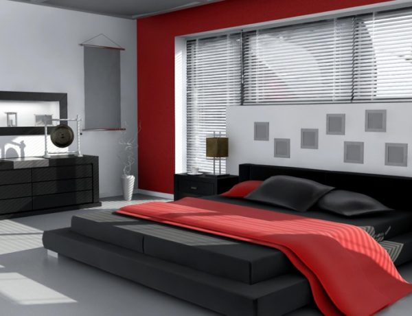 10 Contemporary Red and Black Bedrooms red and black bedroom 10 Contemporary Red And Black Bedrooms red and black bedroom designs 2 2 600x460