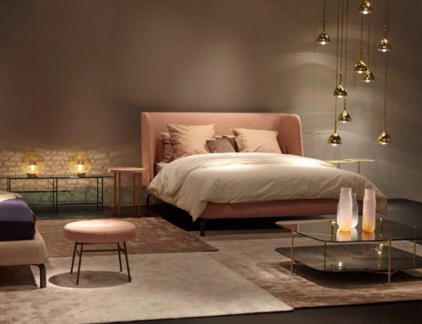 Ligne Roset French Master Bedroom Brands at Maison Et Objet: Ligne Roset gorgeous modern bedroom design by ligne roset master bedroom ideas 600x460