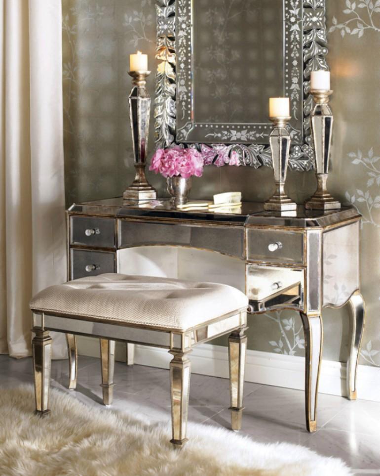 10 Dazzling Master Bedroom Dressing Tables - Master ...