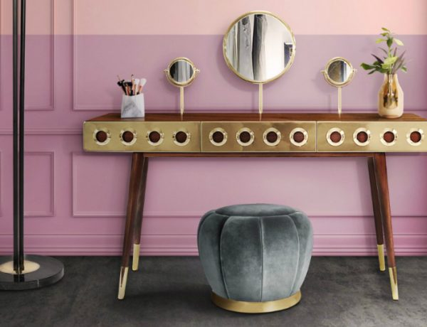 luxury dressing tables 10 Luxury Dressing Tables for your Bedroom 10 Luxury Dressing Tables for your Bedroom Featured  600x460