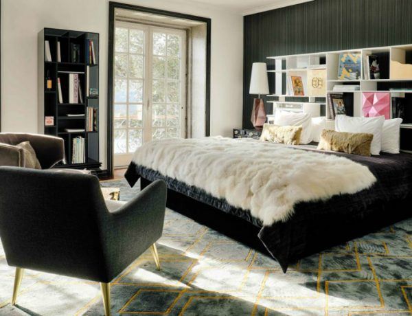 black and white 10 Black and White Master Bedroom Ideas 10 Black and White Master Bedroom Ideas Featured 600x460
