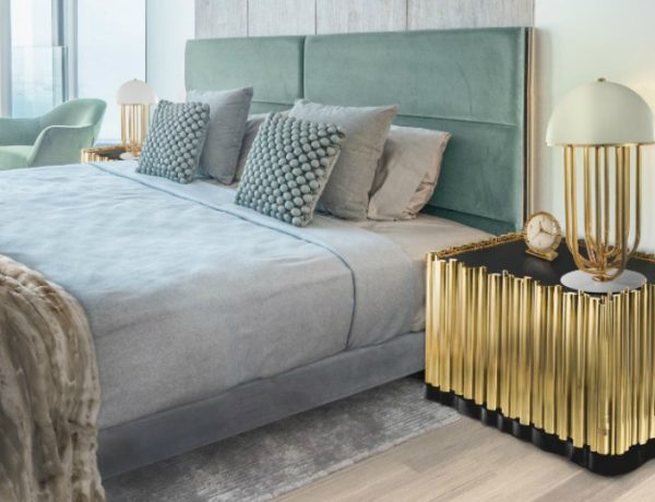 master bedroom Black and Gold Nightstands for your Master Bedroom Black and Gold Nightstands for your Master Bedroom 6 1 600x460