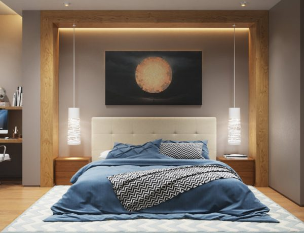 master bedroom Statement Lighting Pieces To Bright up Your Master Bedroom 13 Statement bedroom lighting 600x460