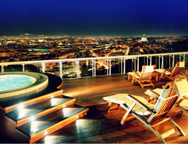 Luxury Lifestyle Luxury Lifestyle: The Best Hotel Suites Around Europe 14 rome cavalieri penthouse suite best hotel suites in europe 600x460