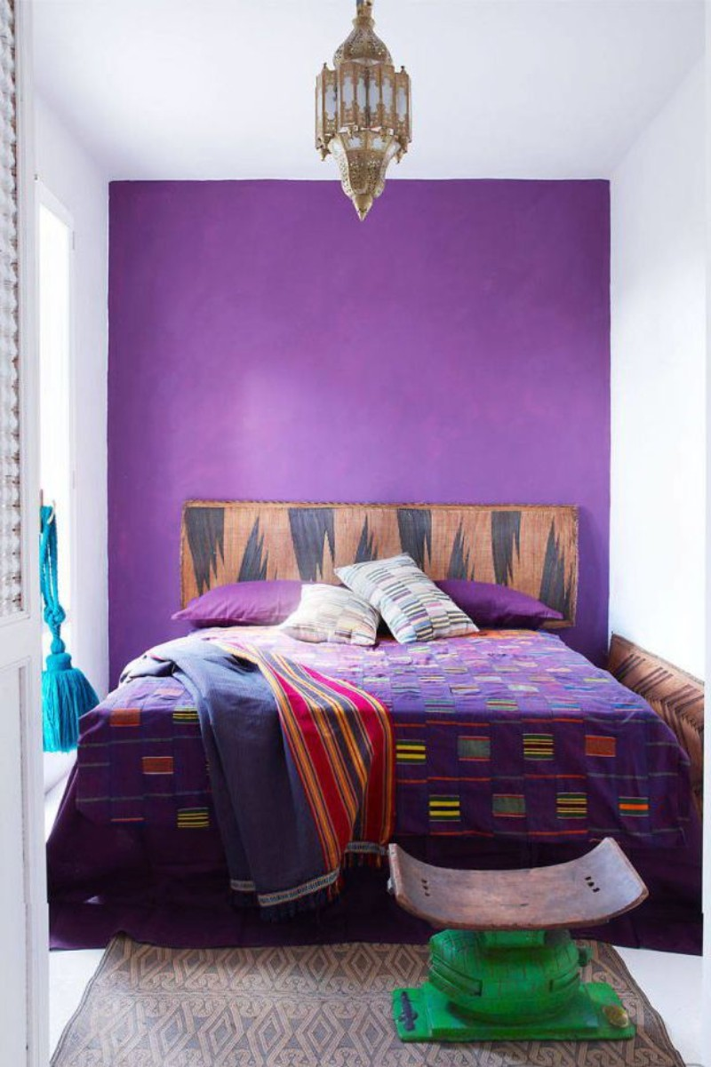 purple ideas for bedroom summer trends purple bedrooms for a stylish room design 16877