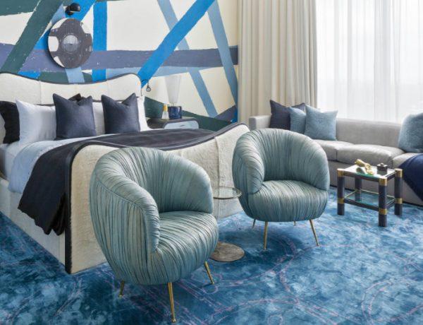 bedroom design The Best Bedroom Design Sets by Kelly Wearstler Austin Residence 600x460