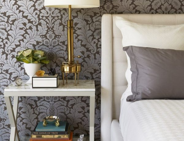 master bedroom Artisan Metal Work Furniture For Your Master Bedroom 13 Statement Wallpapers To Revive Your Master Bedroom 600x460