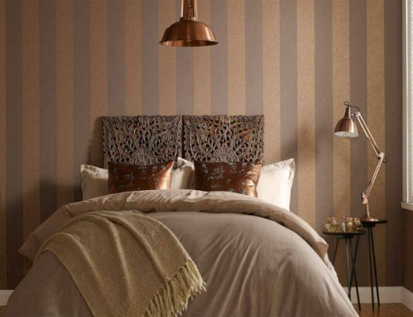 master bedroom Statement Wallpapers To Revive Your Master Bedroom 17 Statement Wallpapers To Revive Your Master Bedroom 600x460