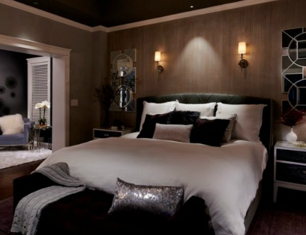 dark bedroom Dark Bedrooms Full of Finesse And Style featured 1 600x460