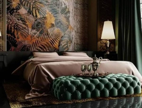 design trends Embrace Color and Pattern: Bedroom Design Trends 2019 Embrace Color and Pattern Bedroom Design Trends 2019 12 600x460