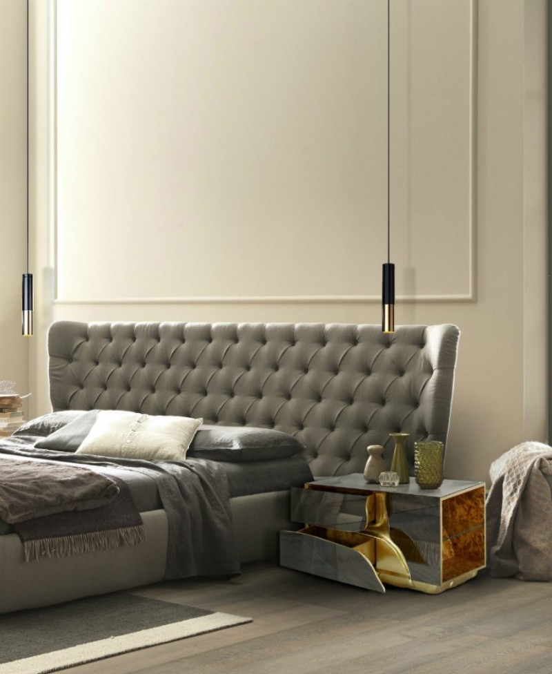 Modern Bedroom Take A Look To Contemporary Nightstands For A Modern Bedroom Lapiaz Nightstand by Boca do Lobo 1 1 1