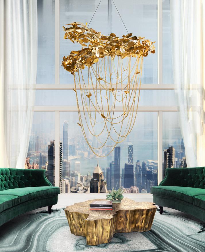 unique pieces unique pieces Unique Pieces for Your Bedroom Presented At Maison et Objet Paris 2019 mcqueen chandelier