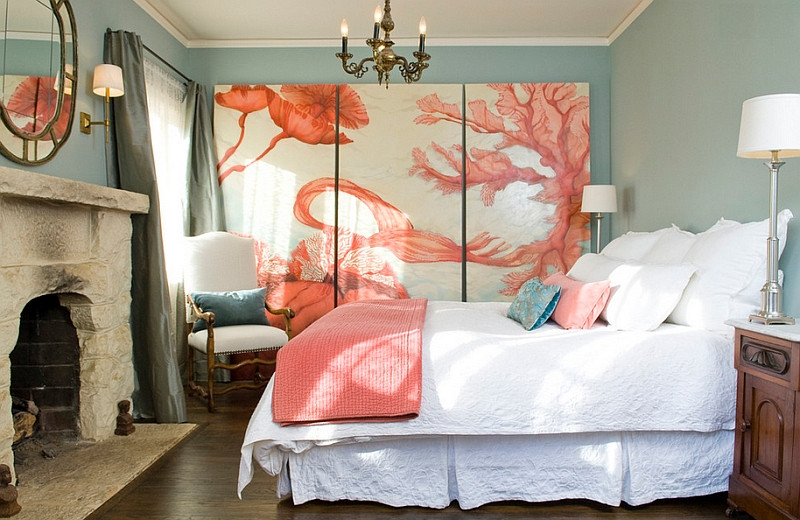 interior design trends Interior Design Trends: Living Coral for a Trendy Master Bedroom Interior Design Trends Living Coral for a Trendy Master Bedroom 13