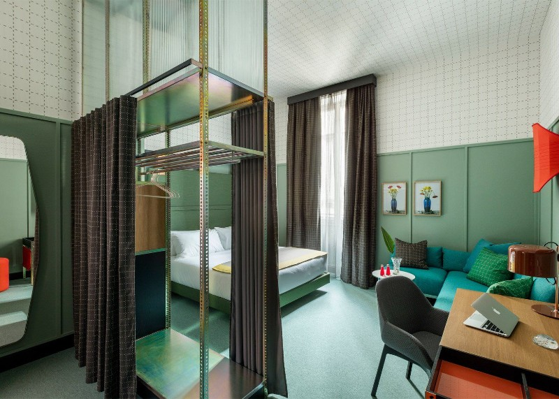 Patricia Urquiola Patricia Urquiola Bedroom's Designs at Milan Room Mate Hotels Patricia Urquiola Bedroom   s Designs at Milan Room Mate Hotels 10