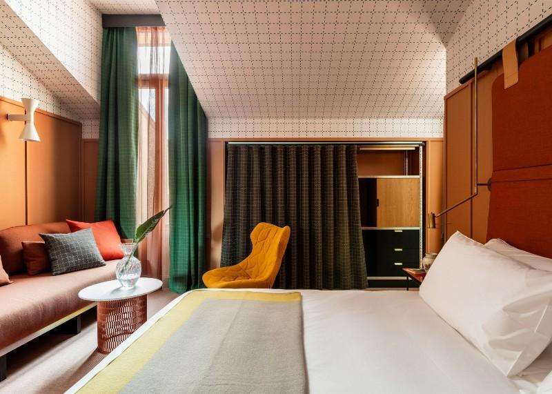 Patricia Urquiola Bedroom's Designs at Milan Room Mate Hotels Patricia Urquiola Patricia Urquiola Bedroom's Designs at Milan Room Mate Hotels Patricia Urquiola Bedroom   s Designs at Milan Room Mate Hotels 3