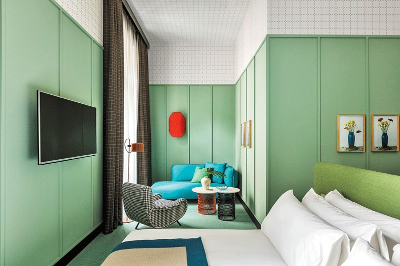 Patricia Urquiola Bedroom's Designs at Milan Room Mate Hotels Patricia Urquiola Patricia Urquiola Bedroom's Designs at Milan Room Mate Hotels Patricia Urquiola Bedroom   s Designs at Milan Room Mate Hotels 8