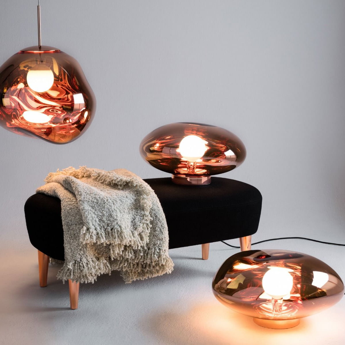 table lamps Top 5 Table Lamps From Luxury Brands melt surface Tom dixon