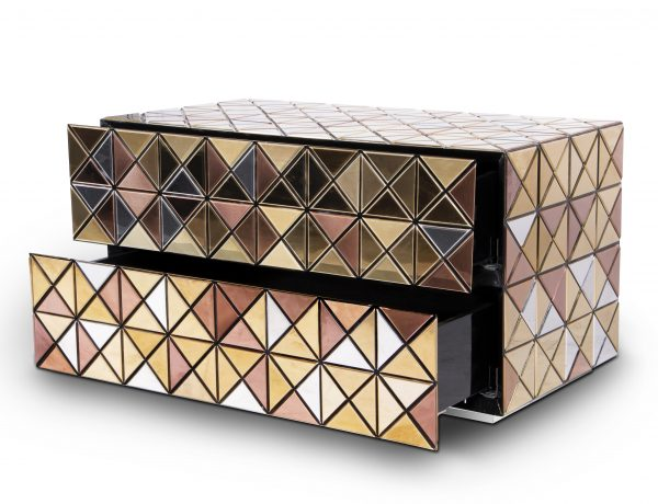 modern nightstands 5 Modern Nightstands – Ideas For Your Bedroom Design Pixel nightstand by Boca do Lobo 2 600x460