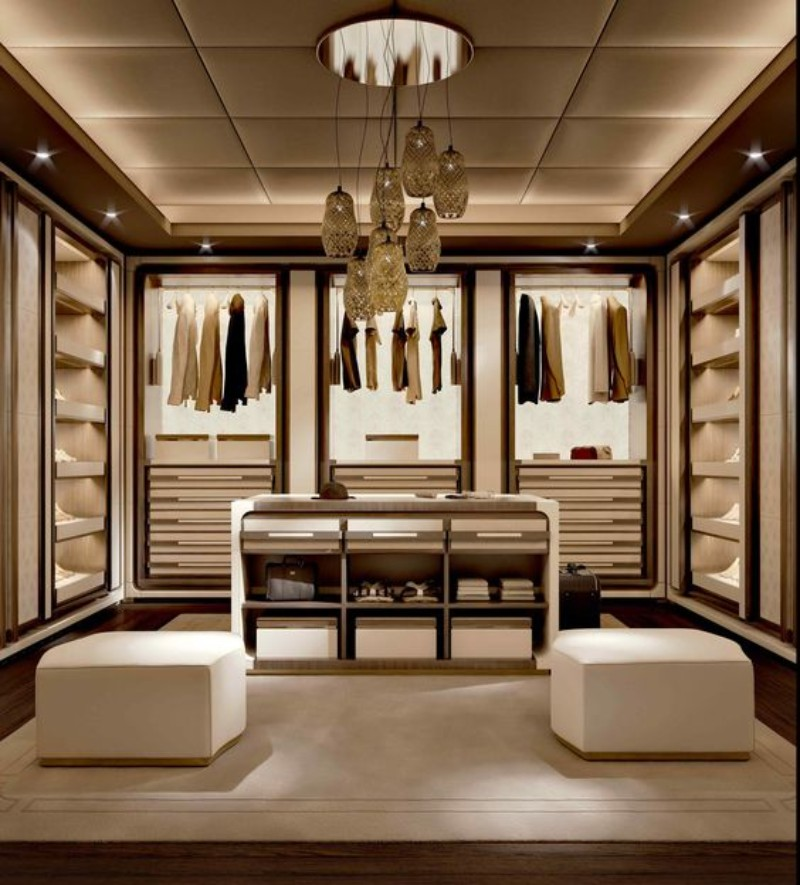 Walk-In Closet Walk-In Closet: The Must-Have In Every Luxury Bedroom! Walk In Closet the must have in a luxury bedroom 6