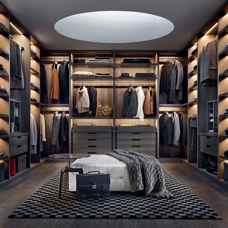 Walk-In Closet Walk-In Closet: The Must-Have In Every Luxury Bedroom! Walk In Closet the must have in a luxury bedroom 9