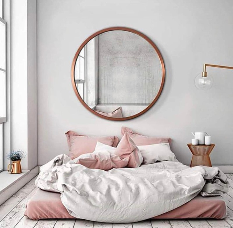 bedroom mirrors Bedroom Mirrors to Refresh Your Interior Design 10 Bedroom Mirrors Thatll Make Your 2018 Absolutely Magical 9