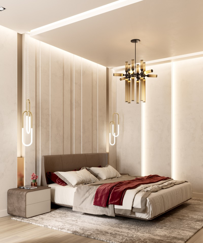 lighting ideas Best Lighting Ideas for Your Modern Bedroom VCamera bed1