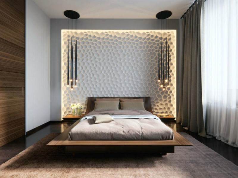lighting ideas Best Lighting Ideas for Your Modern Bedroom bedroom wall designs bedrooms walls designs view in gallery visualized by contemporary bedroom ideas for sophisticated bedroom back wall paint designs bedroom wall designs in pakistan